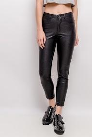ADILYNN faux leather pants