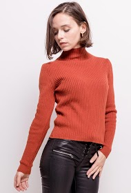 ADILYNN ribbed sweater