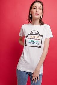 ADILYNN message t-shirt