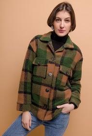 ADILYNN check jacket