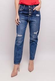 ALINA jeans con botones