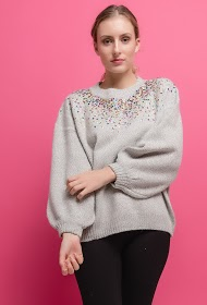 ALINA sweater with sequins