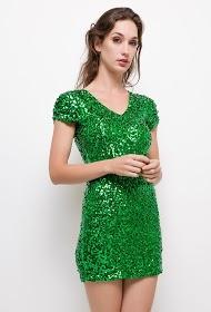 ALINA sequin dress