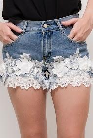 ALINA bestickte shorts
