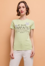 ALINA t-shirt da mensagem