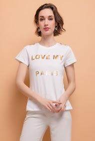 ALINA camiseta love my paris