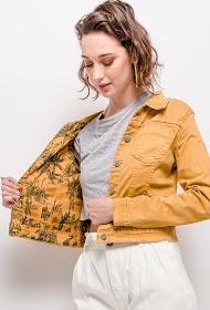 ALINA veste imprimée réversible