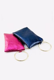 ANDIE BLUE pouch
