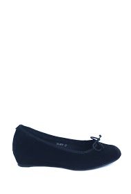 ANOUSHKA (SHOES) wedge ballerina's