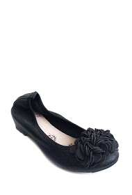 ANOUSHKA (SHOES) flower ballerines with flowers