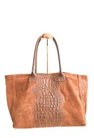 ANOUSHKA (SACS) croc printed leather tote