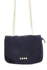 ANOUSHKA (SACS) small studded leather bag