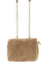 ANOUSHKA (SACS) small suede leather bag