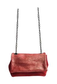 ANOUSHKA (SACS) small iridescent flap bag