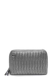 ANOUSHKA (SACS) sac à main en cuir imprimé tréssé