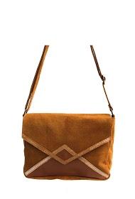 ANOUSHKA (SACS) leather messenger bag