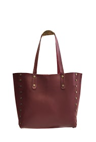 ANOUSHKA (SACS) borsa con borchie