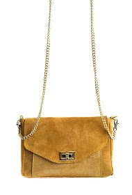 ANOUSHKA (SACS) bi-material leather bag