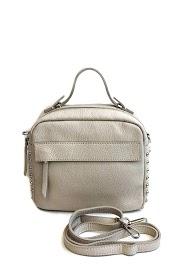 ANOUSHKA (SACS) studded leather bag