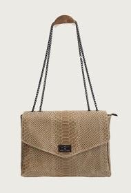 ANOUSHKA (SACS) python print leather bag