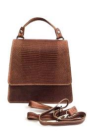 ANOUSHKA (SACS) trabeze leather bag