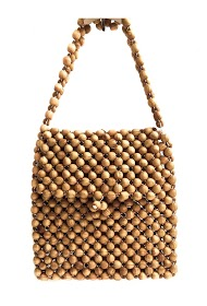 ANOUSHKA (SACS) wooden ball bag