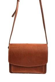 ANOUSHKA (SACS) cowhide leather bag