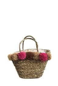 ANOUSHKA (SACS) straw bag
