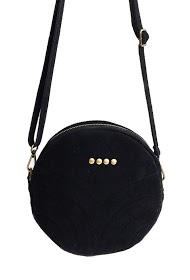 ANOUSHKA (SACS) round leather bag