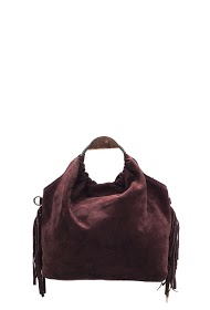 ANOUSHKA (SACS) bucket bag with fringes