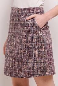 AZAKA II printed skirt