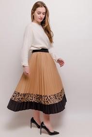 AZAKA II falda plisada