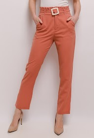 AZAKA II pantalones fluidos elegantes