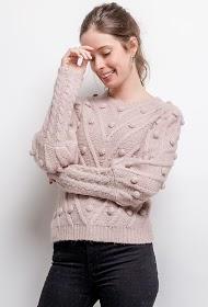 AZAKA II pompom sweater