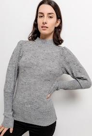 AZAKA II camisola com pérolas