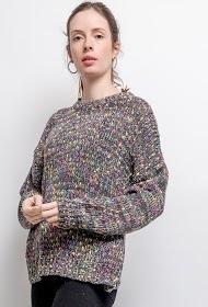 AZAKA II colorful yarn sweater