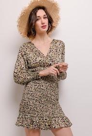 AZAKA II floral print dress
