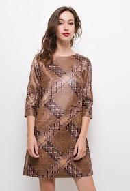 AZAKA II printed dress