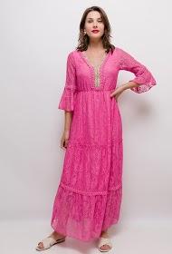 AZAKA II long lace dress