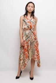 AZAKA II pleated dress