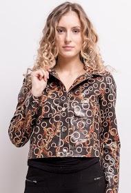 AZAKA II patent printed jacket