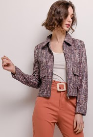 AZAKA II printed jacket