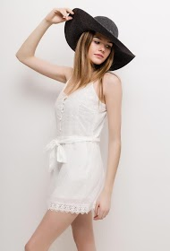 BACHELORETTE spotted playsuit