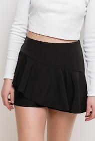BACHELORETTE ruffled short skirt