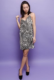 BACHELORETTE buttoned dress