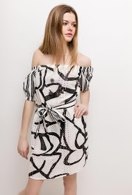 BACHELORETTE cotton dress