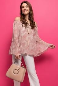 BELLOVE bedruckte bluse