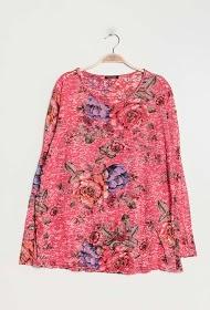 BELLOVE printed blouse