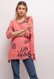 BELLOVE printed blouse