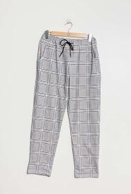 BELLOVE check pants